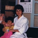 1987 Yoriko and daughter