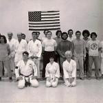 ASU Soryu Karate-Do Class Jan 76