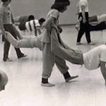 ASU Soryu Karate-Do, Fist, Wrist, Finger Tip Prone Walking Drill, Jan76