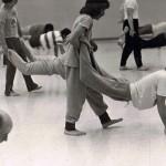ASU Soryu Karate-Do, Fist, Wrist, Finger Tip Prone Walking Drill, Jan76