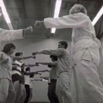 ASU Soryu Karate-Do, Punch Drill, Jan 76
