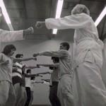 ASU Soryu Karate-Do, Punch Drill, Jan 76