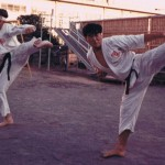 Caldwell, Gary Fujisawa - Kumite Gata San Bon July 1973