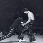 Concho Valley Pro Am, San Angelo, TX, Demo, Lft Dixon, Rgt Ted Gambordello, 12 May 1977