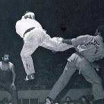 Concho Valley Pro Am, San Angelo, TX, Kicker Ray Mc Cullum, Larry Lockhart, Joe Alvarado Ref, 12 May 1977