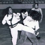Concho Valley Pro Am, SanAngelo,TX, Kicker Linda Dently, Ref Joe Alvarado, 12 May 1977