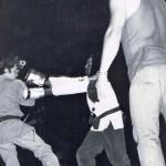 Concho Valley Pro Am, SanAngelo,TX, Puncher D P Hill, Ref Joe Alvarado 12 May 1977