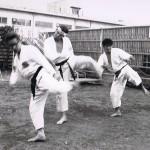 Koyasu, Caldwell, Fujisawa - Kumite Gata San Bon Practice July 1973