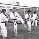 Koyasu, Caldwell, Fujisawa - More Kimue Gata San Bon Practice July 1973