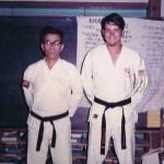 Michio Koyasu, James A Caldwell - Shodan Award 20 June 1973