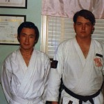 Soryu Karate-Do, First Official Stu, SanAngelo, TX, Wataru Nishioka(Saparo, JP)& Caldwell Jan75