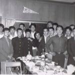 Soryukan party Mar 73, Fujusawa, Haas (L) Caldwell (RCBack), Yamamoto, Ishimatsu (FCenR), Fitzsimmons(RBack)