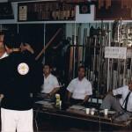 AOKA Test, Matayoshi Dojo, Naha, Oki, Nishiuchi Kobu-Do SanDan Test Critique, Aug 85