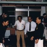 AOKA test, Matayoshi Dojo, Naha, Oki, Nishiuchi Kobu-Do SanDan Critique,Schade, Nishiuchi, Matayoshio, Aug85