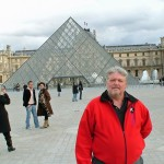 JJIF World Championship, Rotterdam, Netherlands, Shihan Caldwell Post Tourn, Paris,The Louvre, Nov 2007