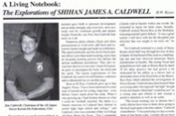 Karate Profiles Magazine, H W Keys, Shihan Jim Caldwell Article, Sep 93 #1-thumb3