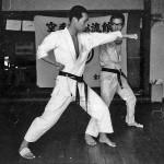 Soryukan, Sasebo, Jp, Michio Koyasu, #2 Performing Taisabaki Kumite Sukui Uke, 1965
