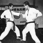 Soryukan, Sasebo, Jp, Michio Koyasu, #3 Performing Taisabaki Kumite Chudan Soto Uke, 1965