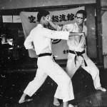 Soryukan, Sasebo, Jp, Michio Koyasu, #6 Performing Taisabaki Kumite Omote Ken Uchi, 1965