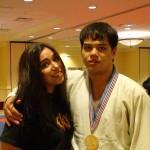 USJJF Nat Champ, Niagra Falls, NY, Aron (Gold Medalist) & Tiffany Caldwell, 2007